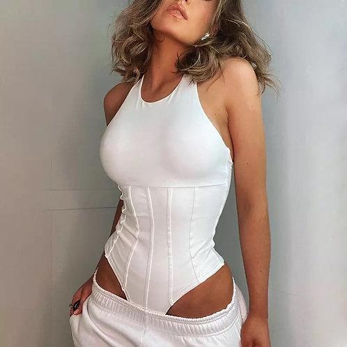 Imagon White Bodysuit
