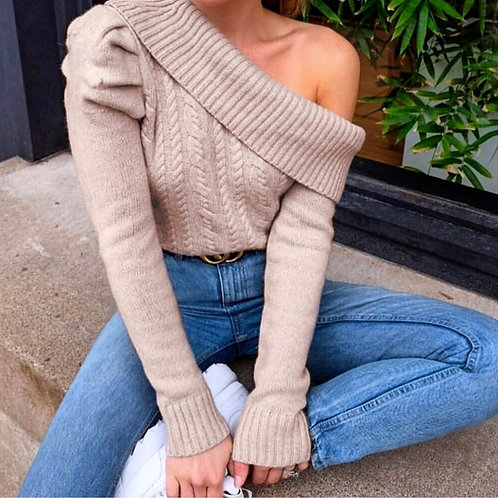 Katrin One Shoulder Pullover