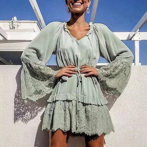 Loura Lace Summer Dress