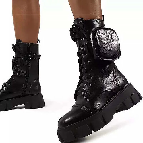 Holly Chunky Ankle Boots
