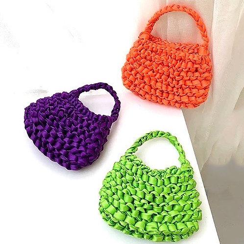 Rettraw Design Silk Hand Bag