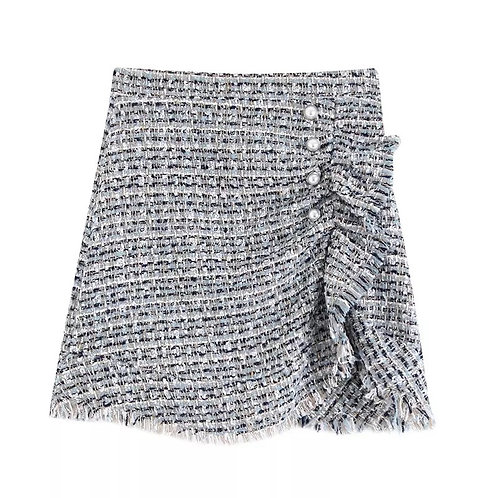Remi Tweed Mini skirt