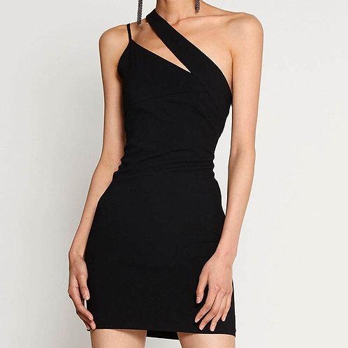 Kapri Black Mini Dress