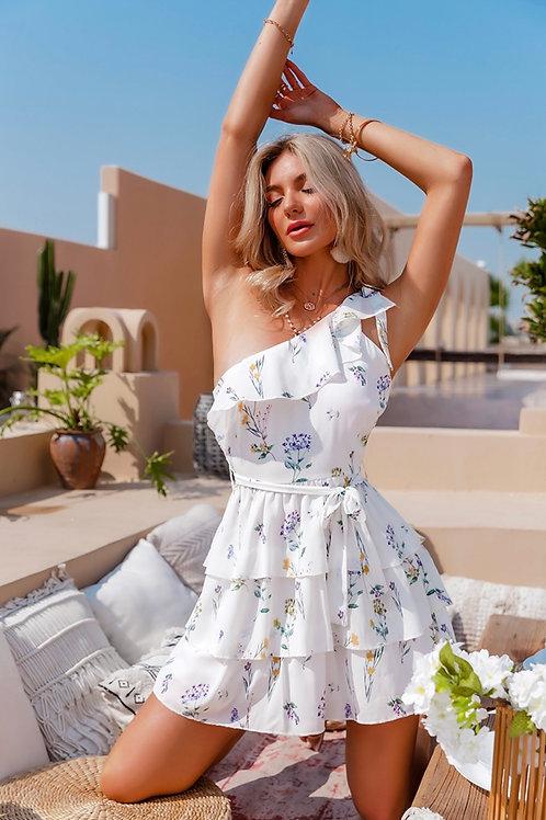 Kenlly One Shoulder Dress