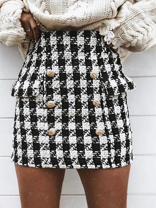 Sona Tweed Skirt