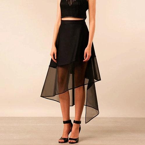 Davina Tulle Elegant Black Skirt
