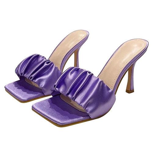 Viola Pleated Mules