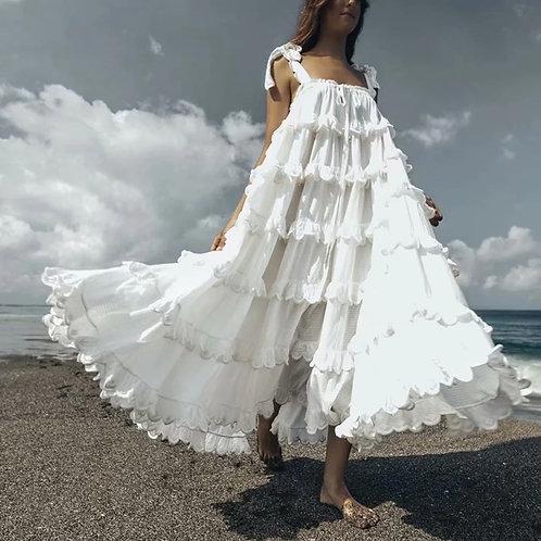 Dantila Ruffles Dress