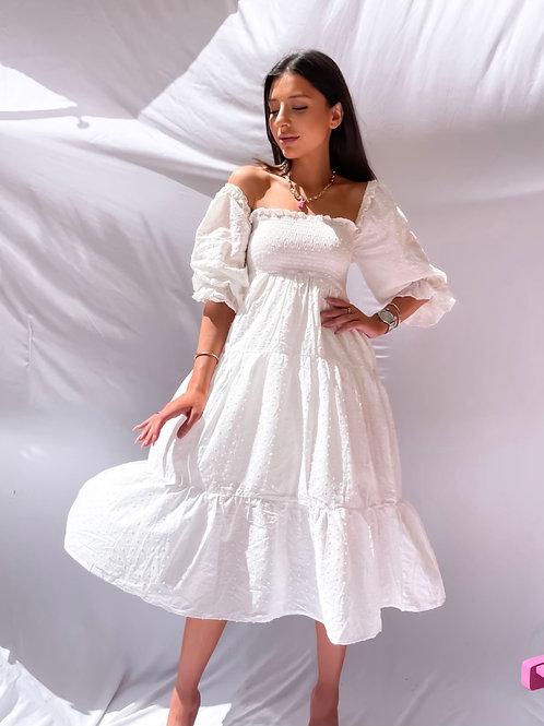 Isla White Summer Dress