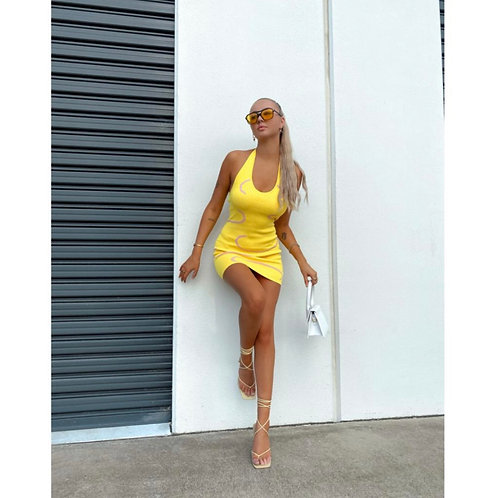 Yona Backless Mini  Dress