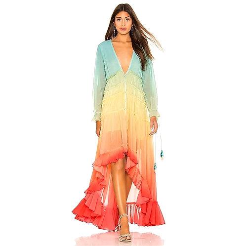 Emma Rainbow Dress