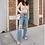 Thumbnail: Arina Ripped Denim Pants