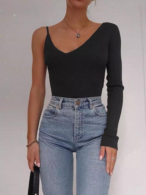 Carla One Shoulder Bodysuit