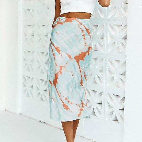 Heily Silk Skirt