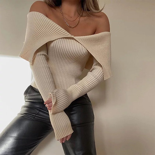 Erica Knitted Top