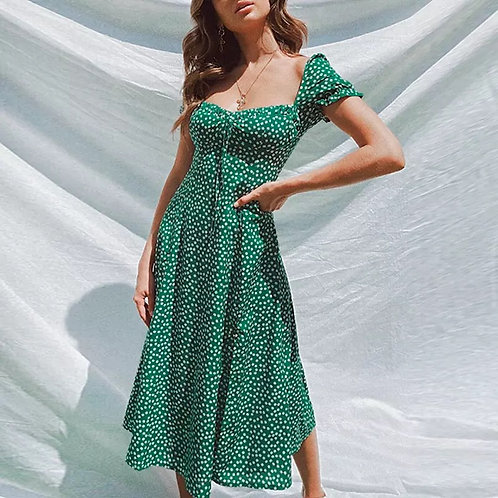 Tarini Floral Midi Dress