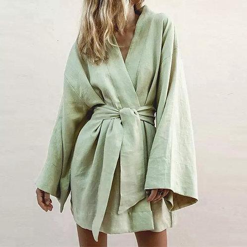 Jeina V-Neck  Summer Casual Dress