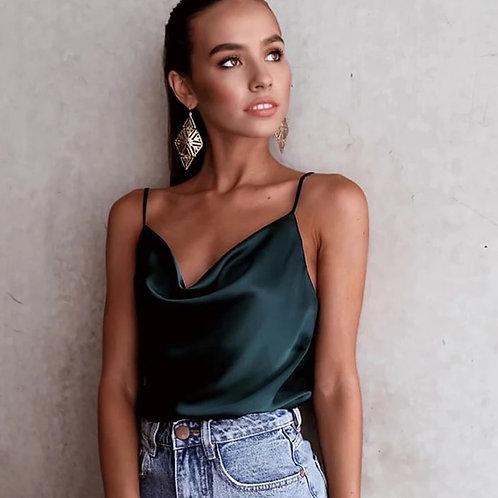 Jessy Silk Top - 6 Colors