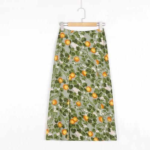 Capri Summer Midi Skirt