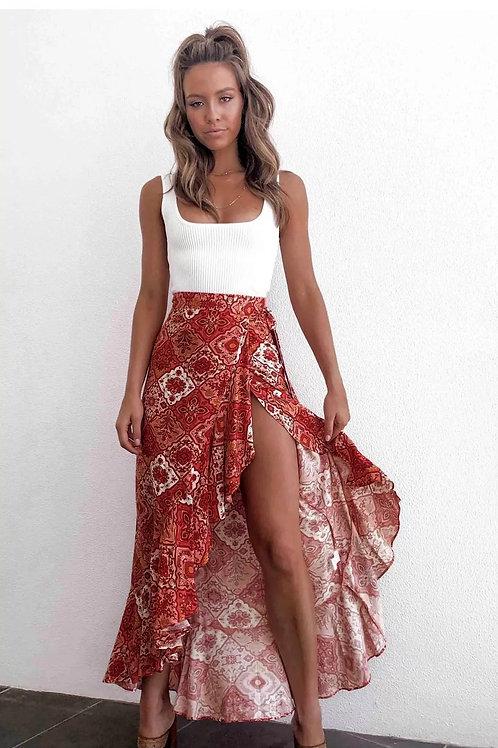 Flare Boho Skirt