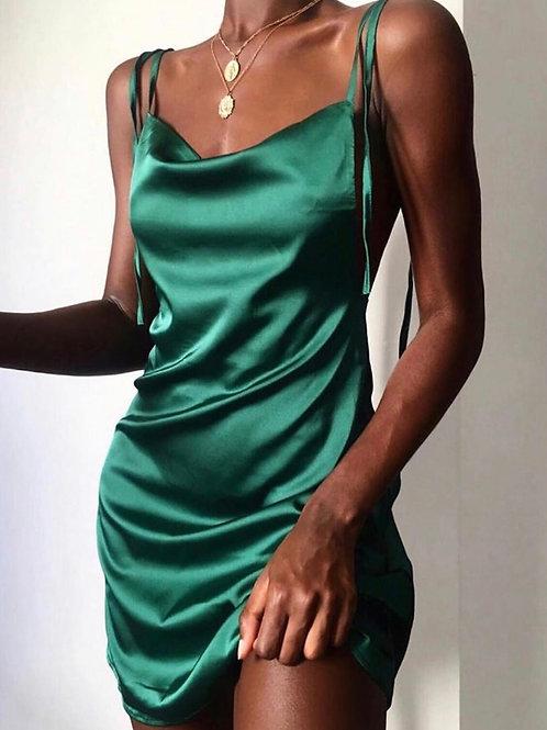 Viena Silk Dress