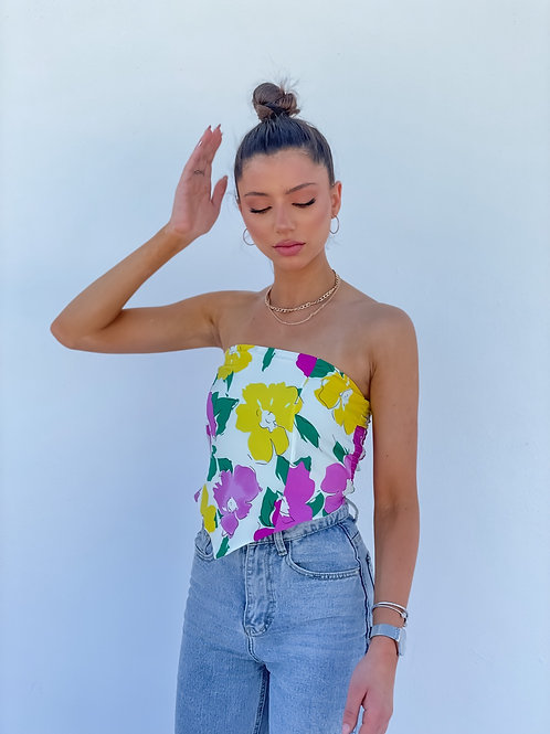 Mary Floral Top