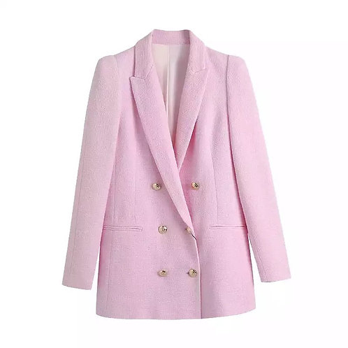 Pink Chic Blazer