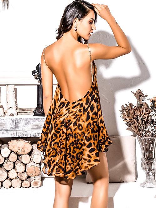 Lilia Leopard Dress