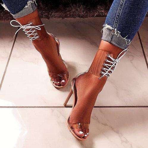 Jinna Lace Up Heels