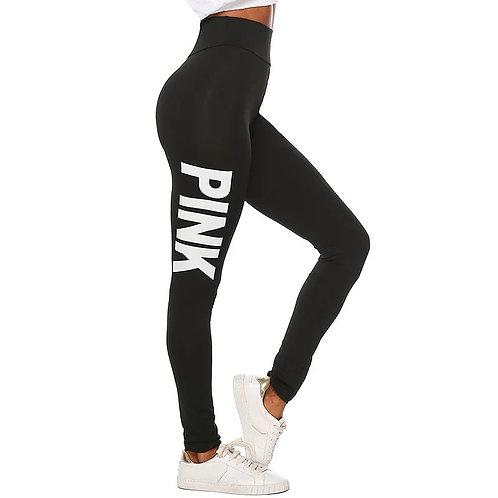 Pink Basic Legging