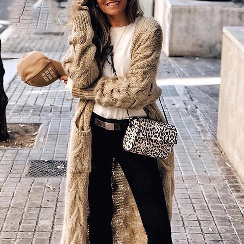 Elissa Mohair casual Long cardigan