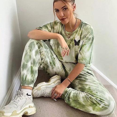 Alina Tie Dye Tracksuit