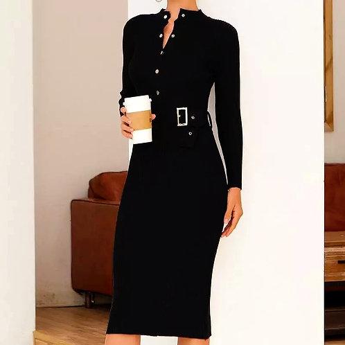 Mikela Elegant Knitted Dress