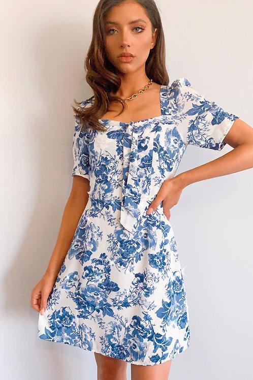 Carmen Floral Dress