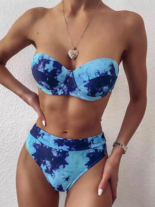 Bora Bora High Waisted Swimsuit