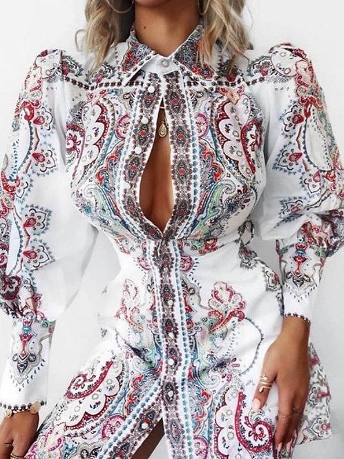 Alexa Printed Dress