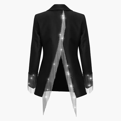 Rebeca Tassels Formal Blazer