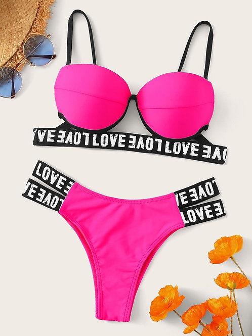 Love Neon Swimsuit