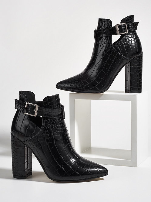 Windy Leather Ankle Boots