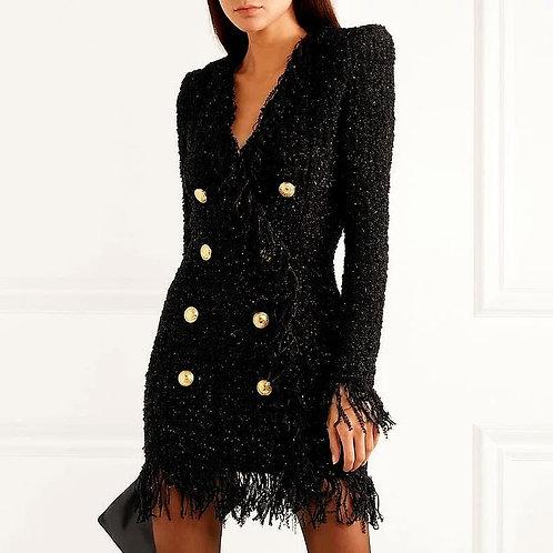 Minna Tassels Tweed Dress