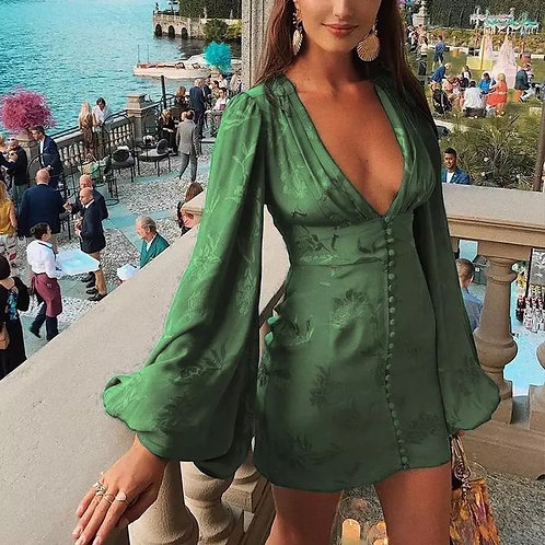 Dolce Satin Dress
