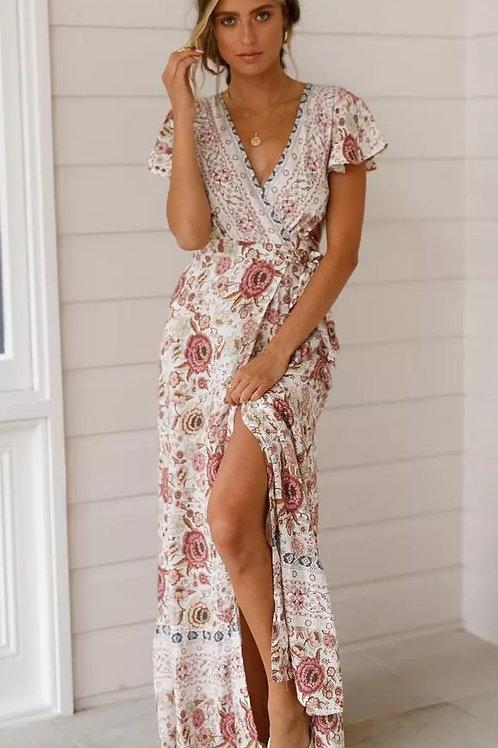 Gaily Boho Maxi Dress