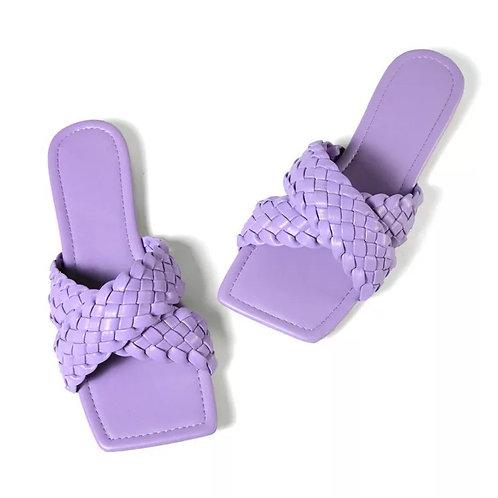 Wave Flat Sandals