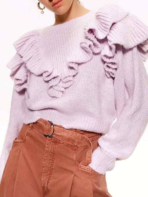 Rachil Ruffles Sweater