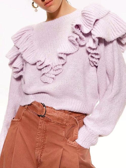 Rachil Ruffles Sweater