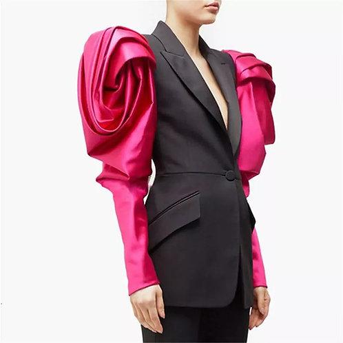 Alexndra Puff Sleeve Blazer