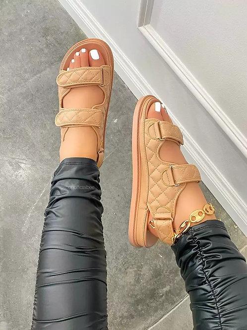 Saton 2021 Sandals - Nude