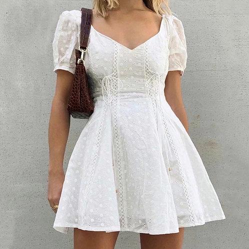 Kristin White Summer Dress