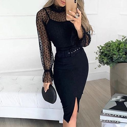 Charlotte Elegant Mesh Dress