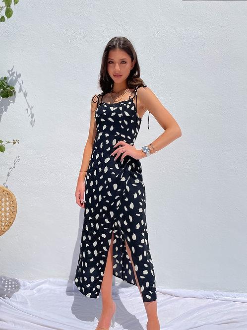 Zaria Black Sexy Dress